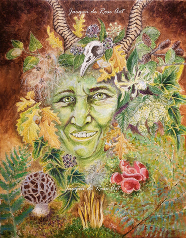 Limited Edition - Signed - Giclee Print  - A - The Green Lady