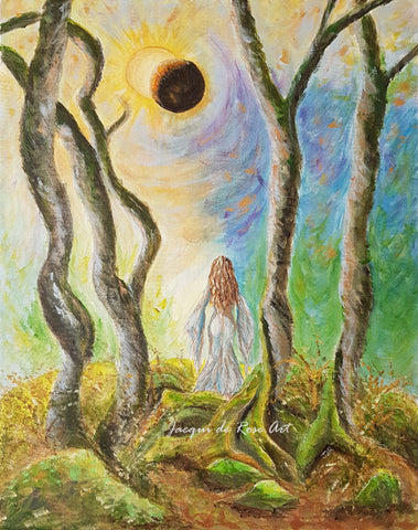 Limited Edition - Signed - Giclee Print  - A - Eclipse