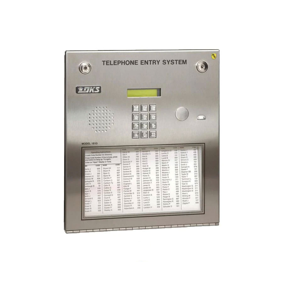 DoorKing 1810-084 Telephone Entry System Flush Mount