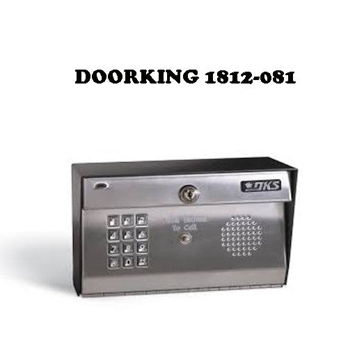 Doorking 1812 081 Residential Surface Mount Telephone