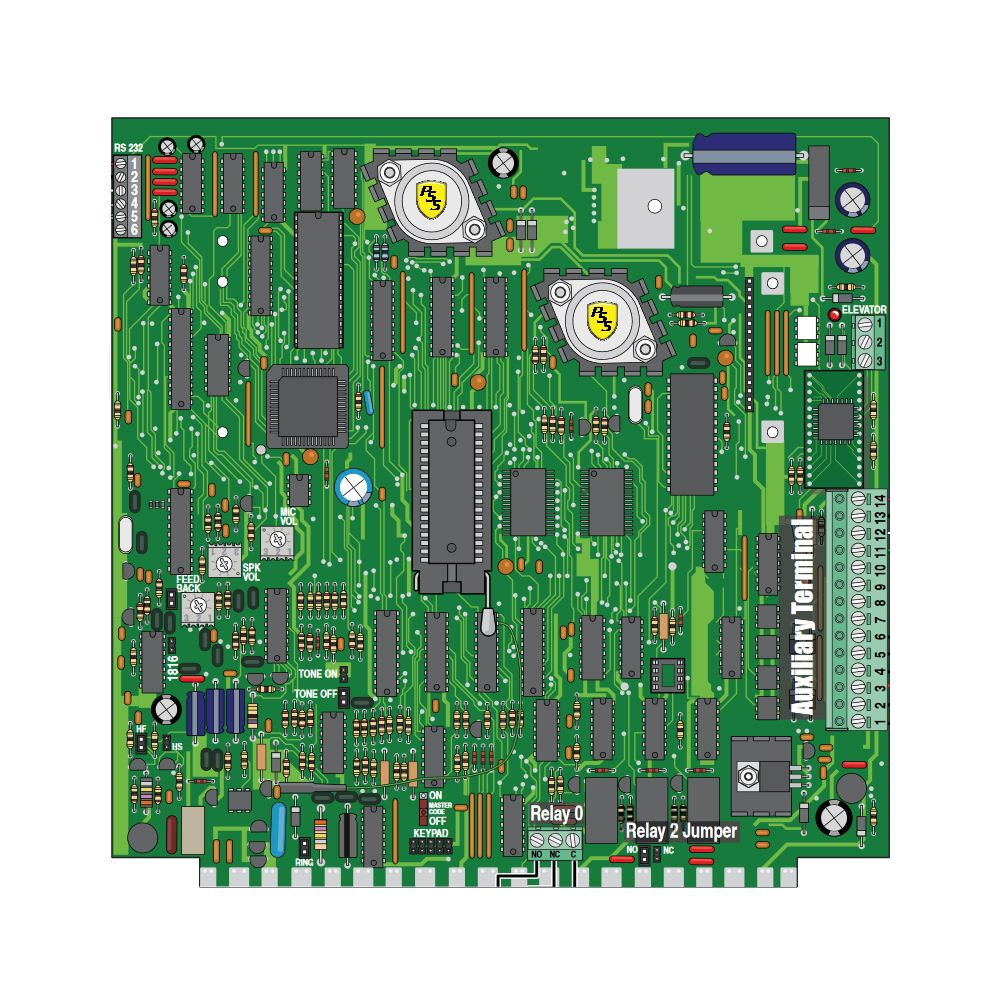 1838-010 Replacement circuit board for 1838 system