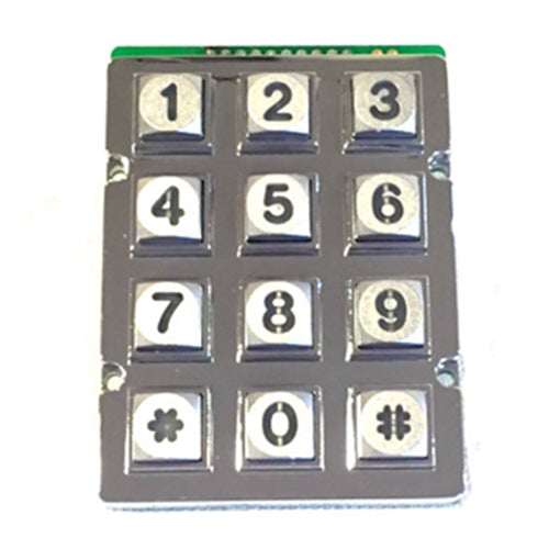 Doorking 1895-022 LED Backlit Keypad Numbers Only