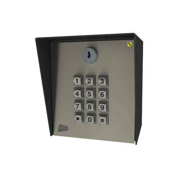 AAS 19-100-DKLP Entry Keypad with 100 codes, low power, no light