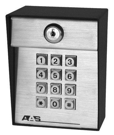AAS 19-100w-433 Wireless Entry Keypad with 100 codes (433MHz)