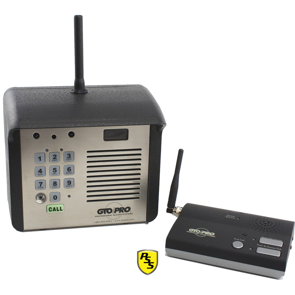 GTO F3100MBC Intercom with indoor and outdoor unit showing