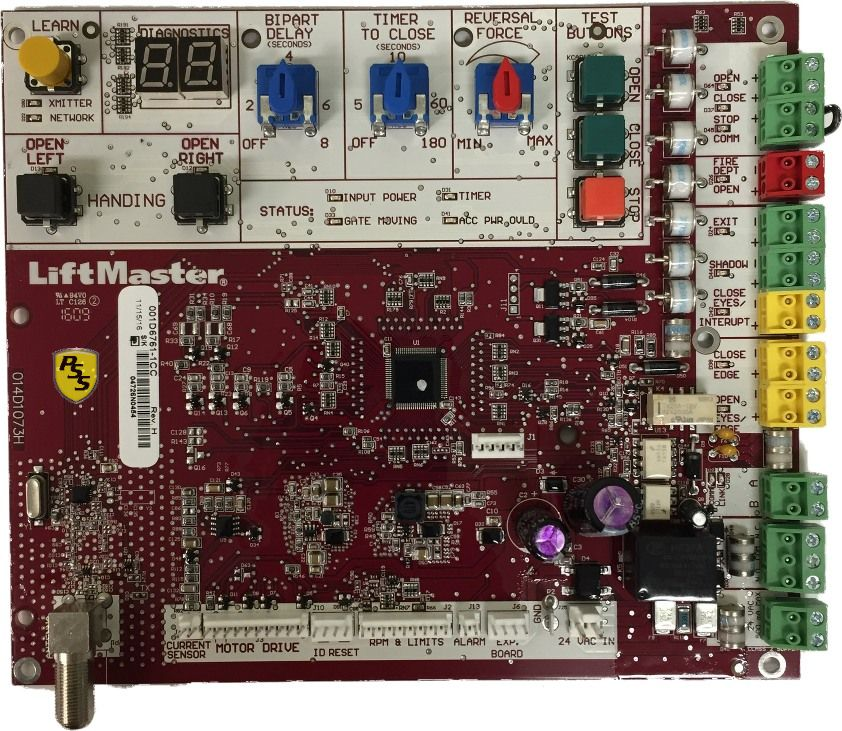 LiftMaster K1D6761-1CC Main Control Board by pssstore.net