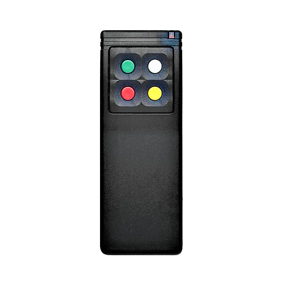 Linear MegaCode MDT-4B 5-Button Custom Block Coded Remote Control with Visor Clip