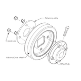 HySecurity MX002707 Wheel Assembly
