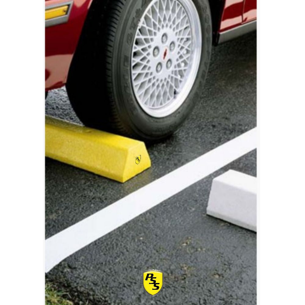 Parking Block Deluxe Yellow Truck Parking Block 96""