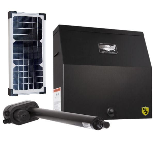 Us Automatic Patriot I Ul W Lcr And 6 Watts Solar Panel Pssstore