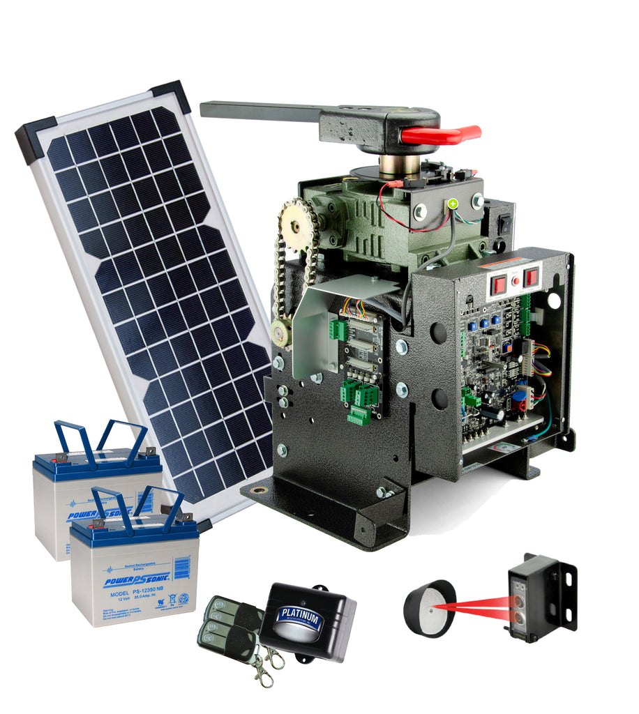 Platinum BLSW1016-BSO Solar Package With Accessories