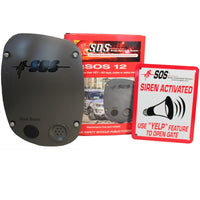 SOS Siren Operated Sensor Emergency Access System