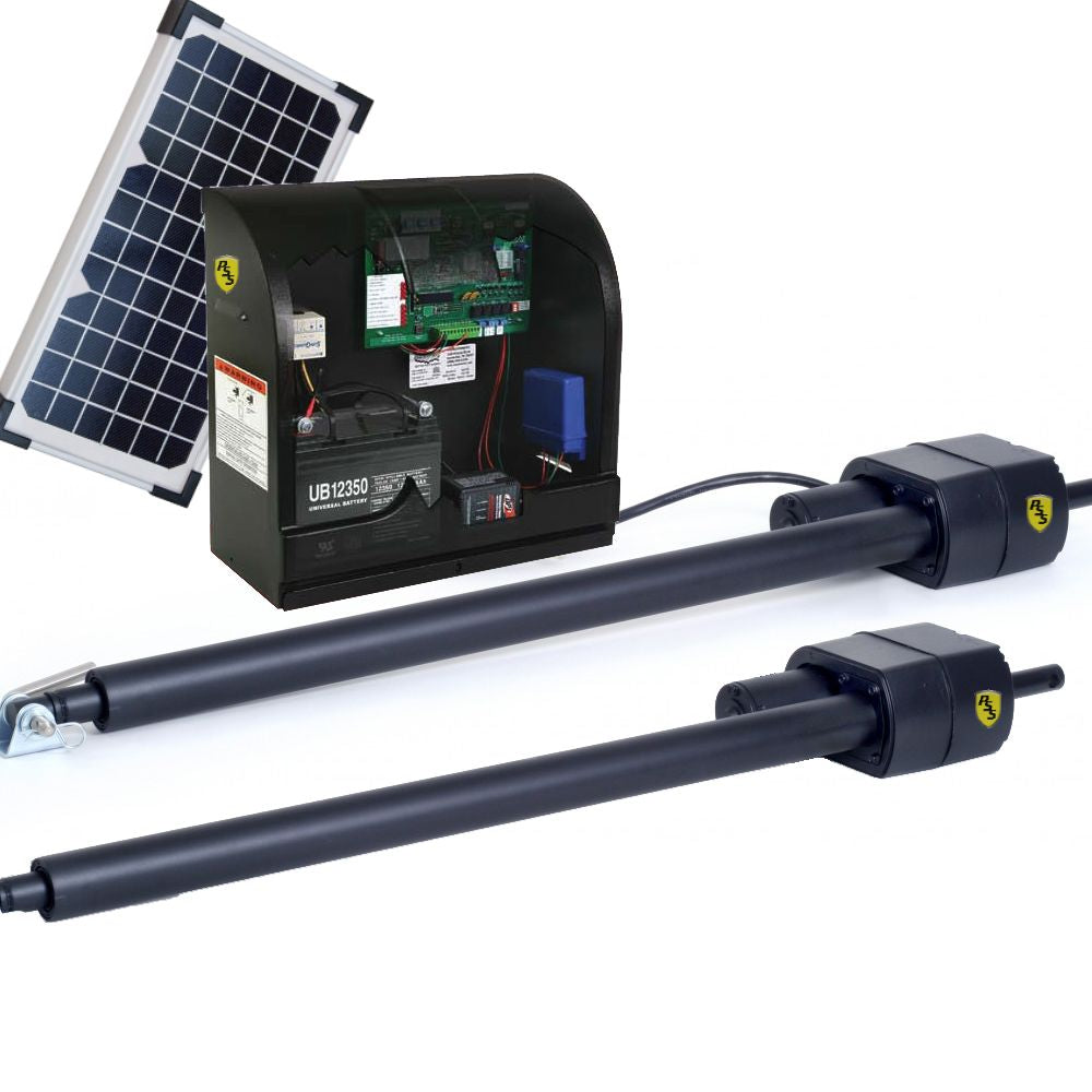 US Automatic Patriot II UL w/LCR and 6 watts solar panel