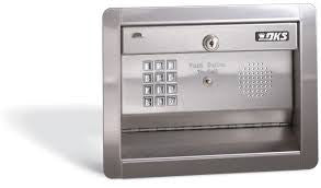 DoorKing 1812-087 Residential Flush Mount Telephone Entry System