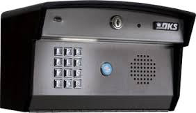 DoorKing 1812-095 Plus Curved Surface Mount Telephone Entry System
