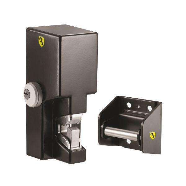Securitron GL1-FL-GMC Gate Lock with 2000lbs. Gate Lock Mortise Cylinder