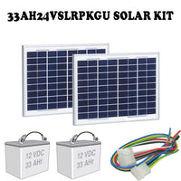 Liftmaster 33AH24VSLRPKGU Solar Kit for CSL24V and CSW24V Openers