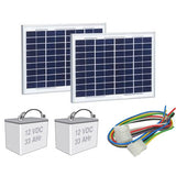 Liftmaster Gate Opener - Liftmaster Solar Kit for CSL24U and CSW24U - Liftmaster 33AH24VSLRPKGU Solar Kit