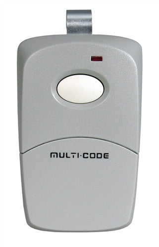 Multi-Code 308911 One-Button Remote Control with Visor Clip 300Mhz
