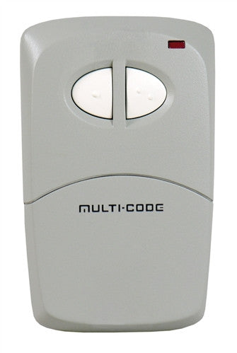 Multi-Code 412001 Two-Button Remote Control with Visor Clip 300Mhz