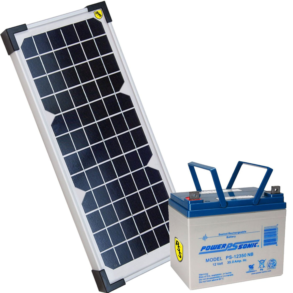 Liftmaster 20w33a Solar Package