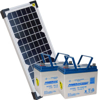 PSSstore 24VDC 130 Watt Solar Package