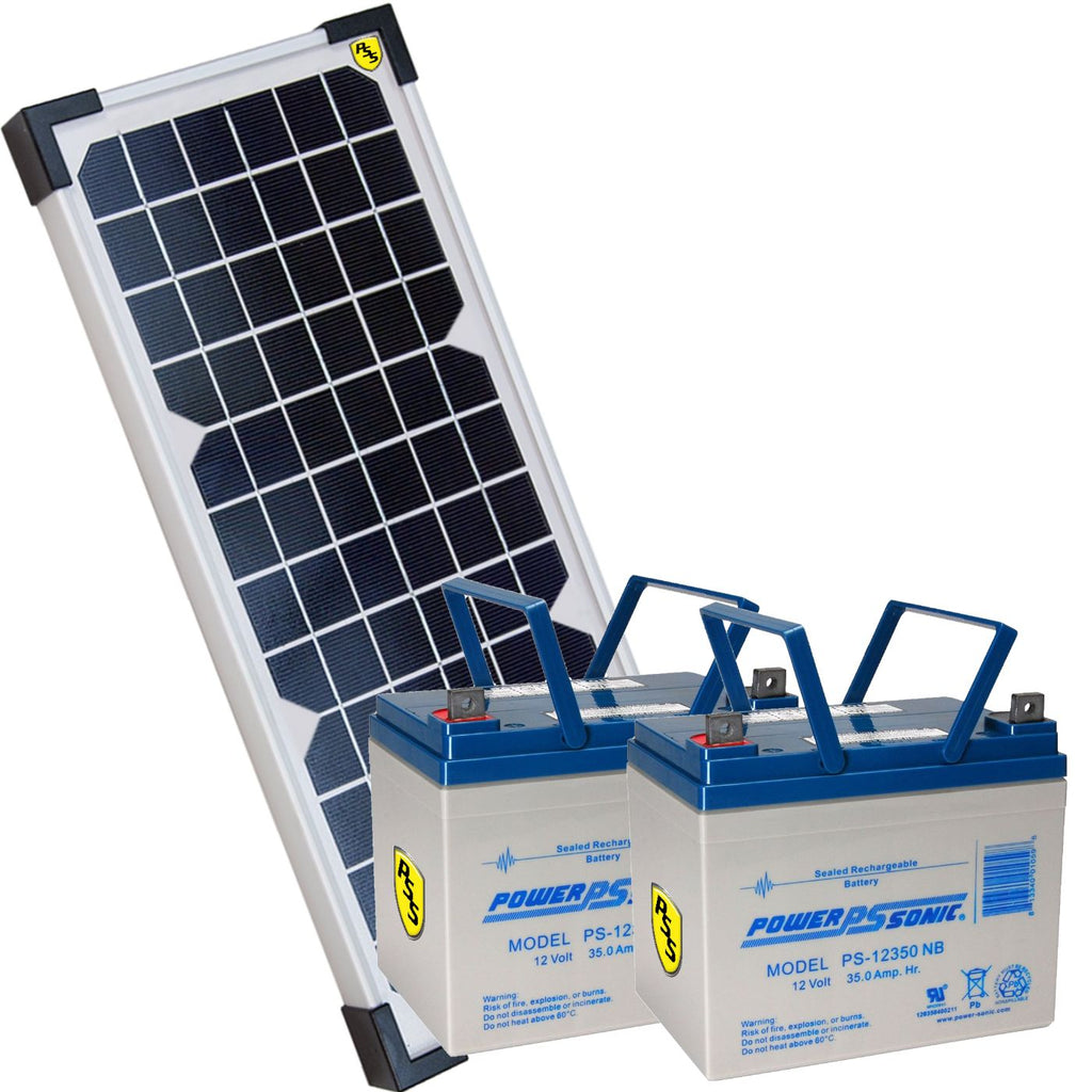 PSSstore 24VDC 85 Watt Solar Package