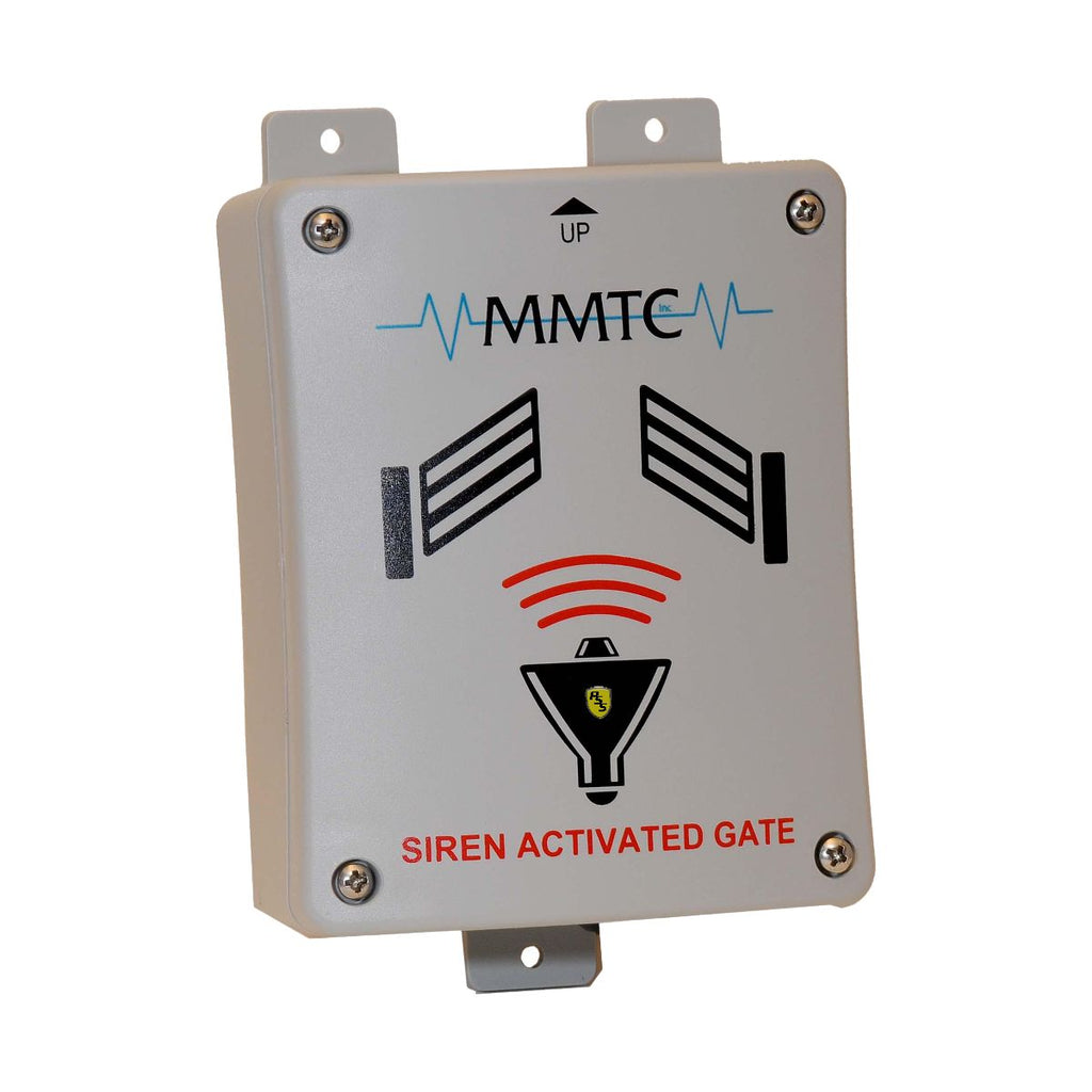 MMTC Siren Activated Gate