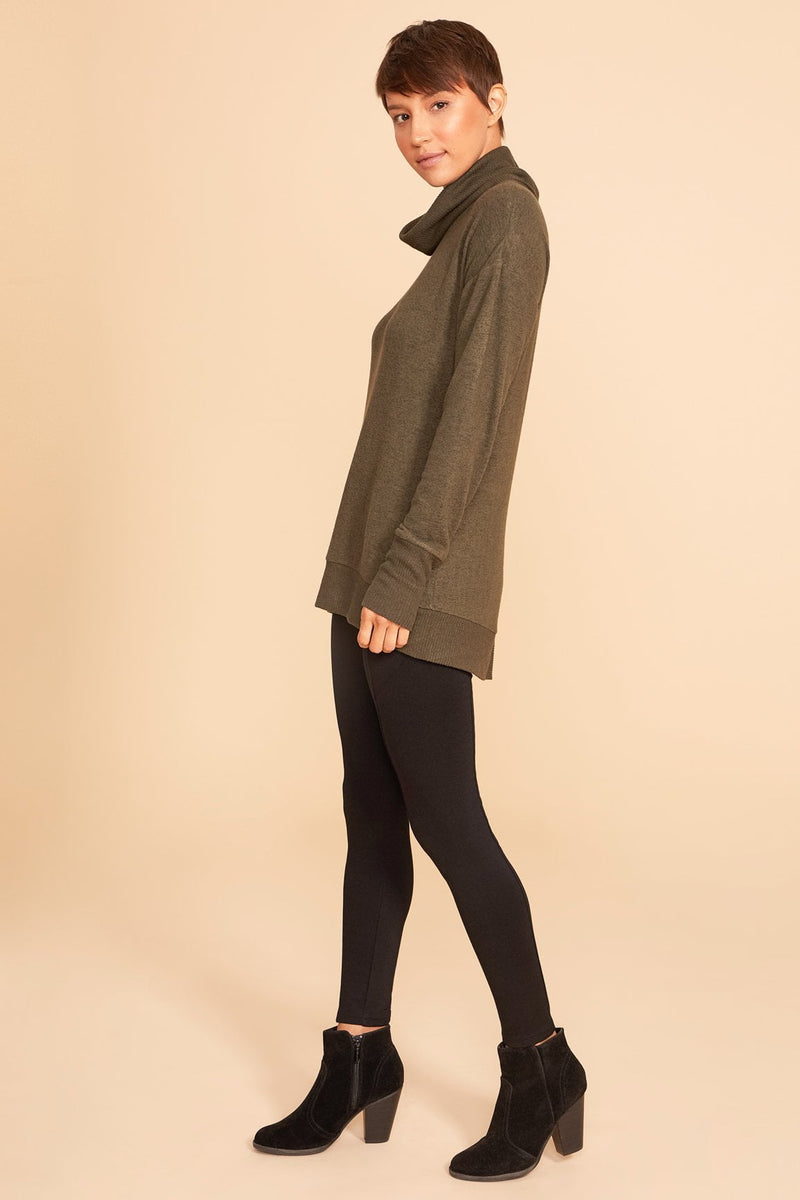 Asymmetrical Back Pullover