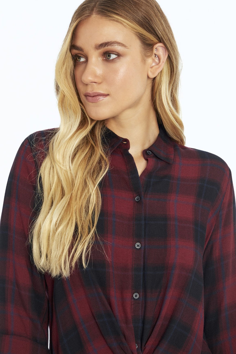 Sharon Plaid Twist