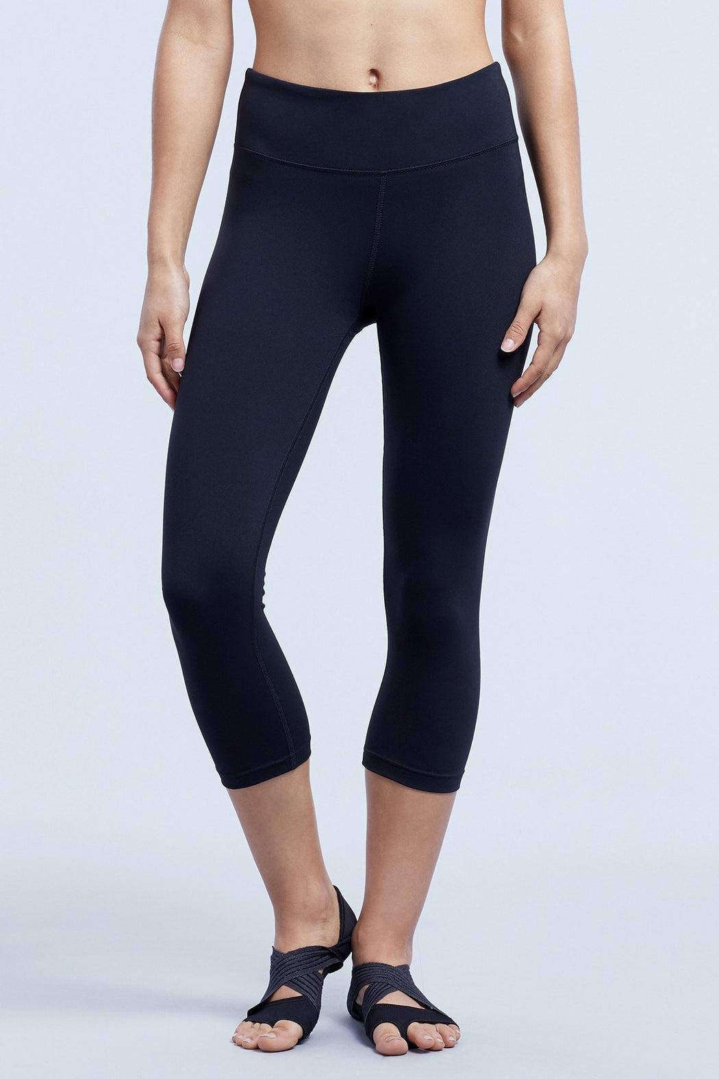 Straight Leg Capri Leggings