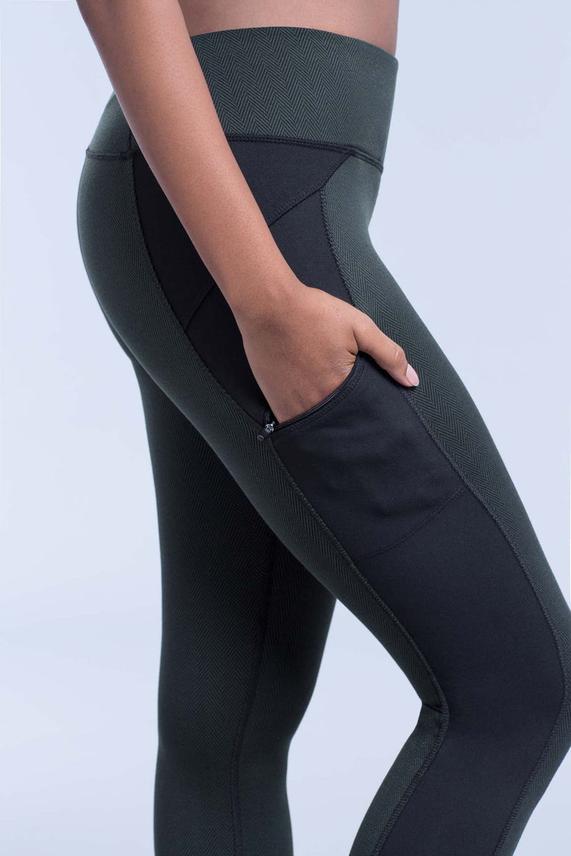 Long Legging With Zipper Pockets