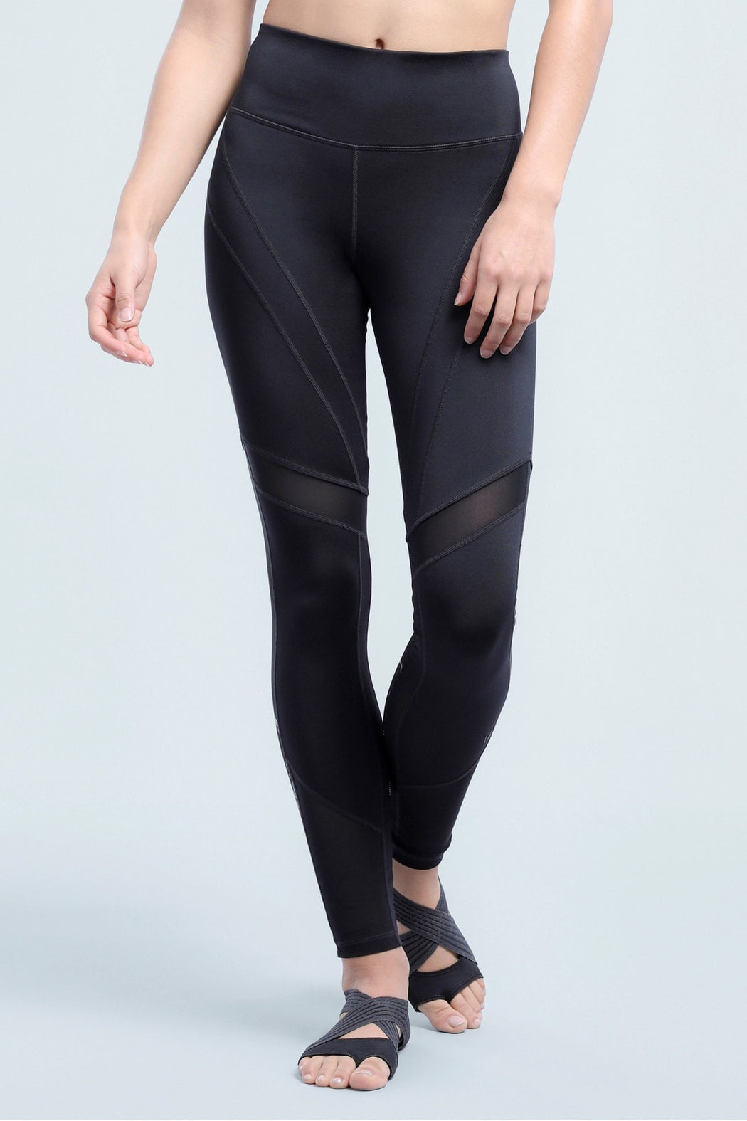 Hailey Mesh Pieced Shape Optimizing Legging