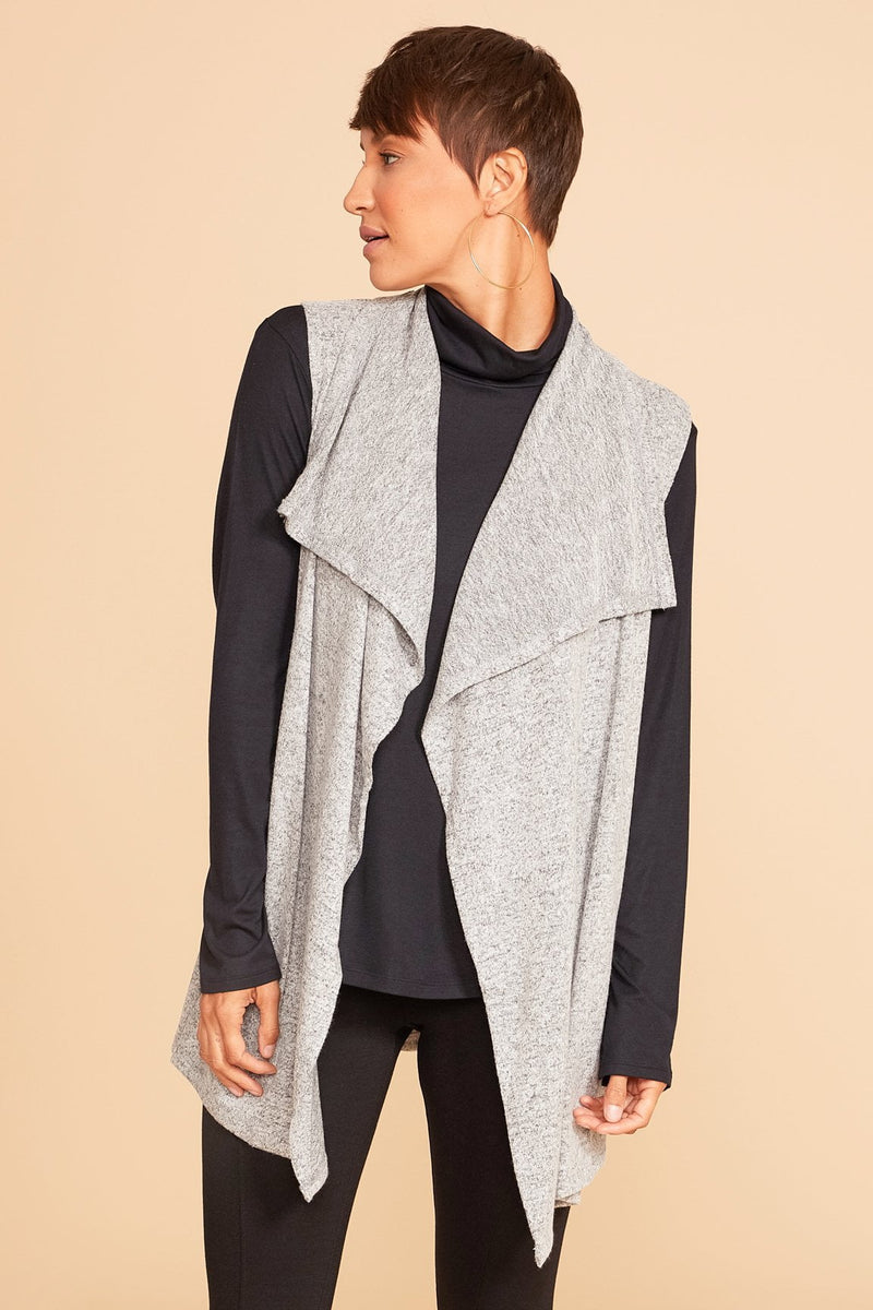 Shayla Sleeveless Cardigan