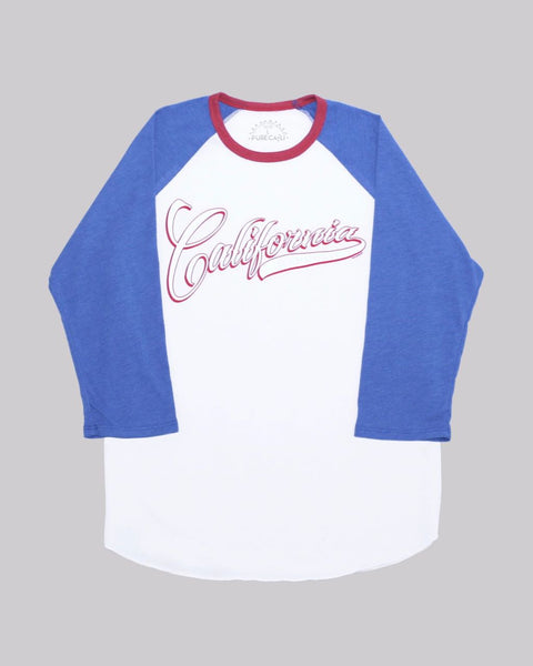 California Raglan Baseball Tee