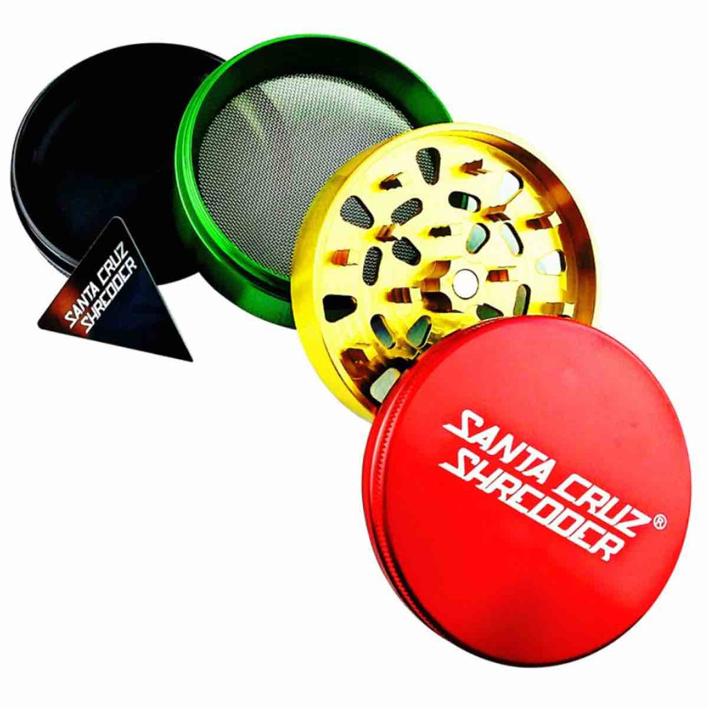 (Large)  Santa Cruz Shredder (Large) - 4 Piece
