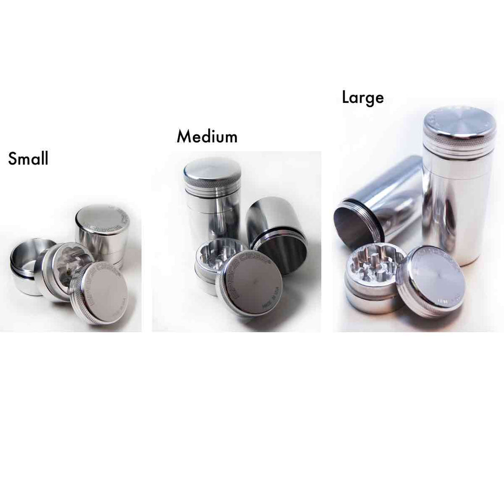 4 Piece - Storage and Space Case Scout Grinder