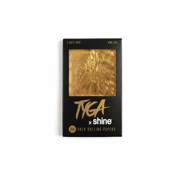 24Karat Gold - (6­-Sheet Pack) Shine Tyga X King Size