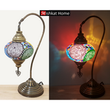 Mishkat home swan wide lamp mosaic lamp mixed colour