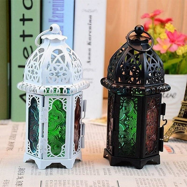 Candle Holder  Moroccan Candlestick Hanging Lantern Wedding