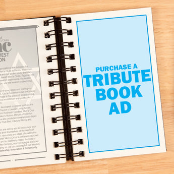 Buy a Tribute Book Ad
