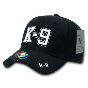 Adult Deluxe Embroidered Law Enforcement K-9 Cap