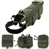 Tactical Military Molle Patrol Harness - With Detachable Pouches - RANGER