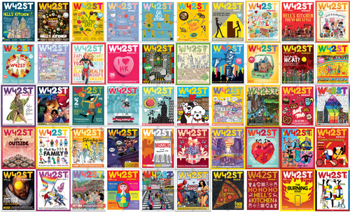 12 Issue Subscription to W42ST magazine - US only