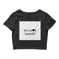We Love LanniC Crop Tee