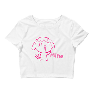 Mine Crop Tee - LanniC Fashion
