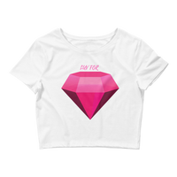 Luv For Diamond Crop Tee