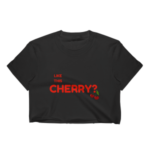 Cherry Crop Top - LanniC Fashion
