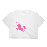 Unicorn Lover Crop Top