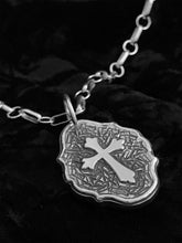 Original Celtic cross pendant by Jim Brandvik (angle view)